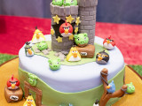 angrybirdskake, angry birds kake, angry birds cake, angry birds
