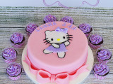 Hello Kitty, Hello Kitty cake, hello kitty kake